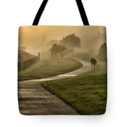 Misty Sunrise  2 Tote Bag