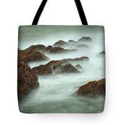 Misty Waves Tote Bag