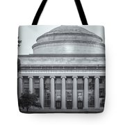Mit Building 10 And Great Dome II Tote Bag