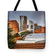 Mit Stata Building Center - Cambridge Tote Bag