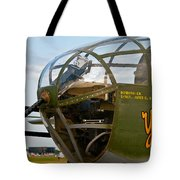 Mitchell Bomber Tote Bag