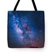 Mitchell Butte Milky Way Tote Bag