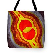 Mitosis Of Worlds Original Painting Tote Bag