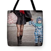 Mittens Attached Tote Bag