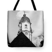Mittenwald Kirchturm Tote Bag