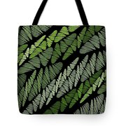 Mixed Assembly-green Tote Bag