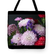 Mixed Bouquet Tote Bag