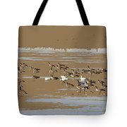 Mixed Flock Tote Bag