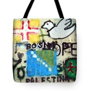 Mixed Messages Tote Bag