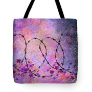 Mixed Messages Tote Bag by Rachel Christine Nowicki