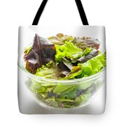 Mixed Salad In A Cup Tote Bag