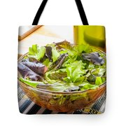 Mixed Salad With Condiments Tote Bag