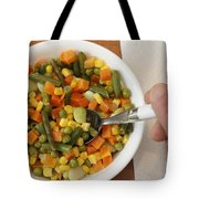 Mixed Vegetables Meal Tote Bag