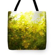 Painted Garden  Tote Bag