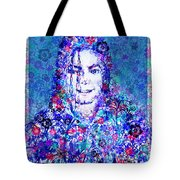Mj Floral Version 2 Tote Bag