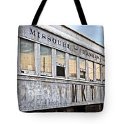 Mkt Train Passanger Car Tote Bag
