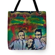 Mlk Fatherhood 1  Tote Bag