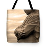 MLK Tote Bag by Mitch Cat