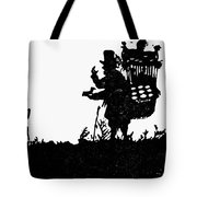 M�ller The Bird Seller Tote Bag