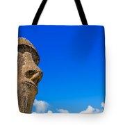 Moai And Blue Sky Tote Bag