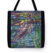 Moasic Crane Tote Bag