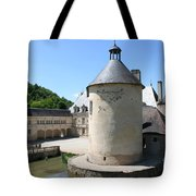 Moated Castle - Bussy Rabutin - Burgundy Tote Bag