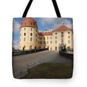 Moated Castle Moritzburg Tote Bag