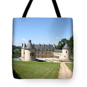 Moated Palace - Bussy-rabutin Tote Bag
