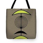 Mobile 3 In Green Tote Bag