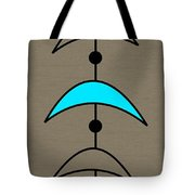 Mobile 4 In Turquoise Tote Bag