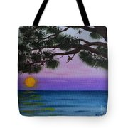 Mobile Bay Sunset Tote Bag