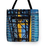 Mobile Crane Section Tote Bag