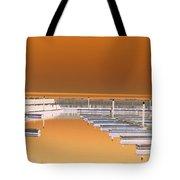 Mocha Dock Tote Bag