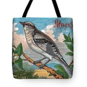 Mocking Bird Tote Bag