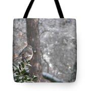 Mockingbird Back Tote Bag