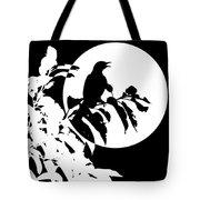 Mockingbird Moon Tote Bag