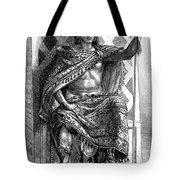 Moctezuma II, Ninth Tlatoani, Aztec Tote Bag