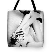 Model Photographer Tote Bag