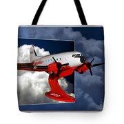 Model Planes Dc3 01 Tote Bag