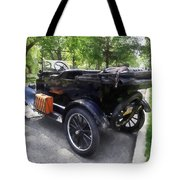 Model T With Luggage Rack Tote Bag