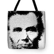 Modern Abe - Abraham Lincoln Art By Sharon Cummings Tote Bag