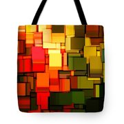 Modern Abstract I Tote Bag by Lourry Legarde