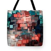 Modern Abstract Ix Tote Bag