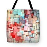 Modern Abstract X Tote Bag