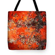 Modern Abstract Xxx Tote Bag