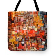 Modern Abstract Xxxi Tote Bag