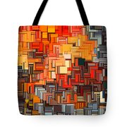 Modern Abstract Xxxiv Tote Bag