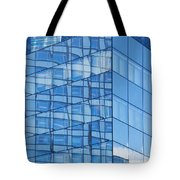 Modern Architecture Abstract Tote Bag