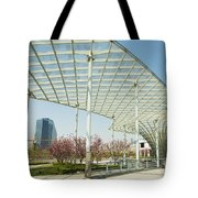 Modern Architecture In Shanghai China Tote Bag