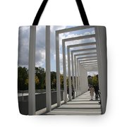 Modern Archway - Schwerin Garden -  Germany Tote Bag